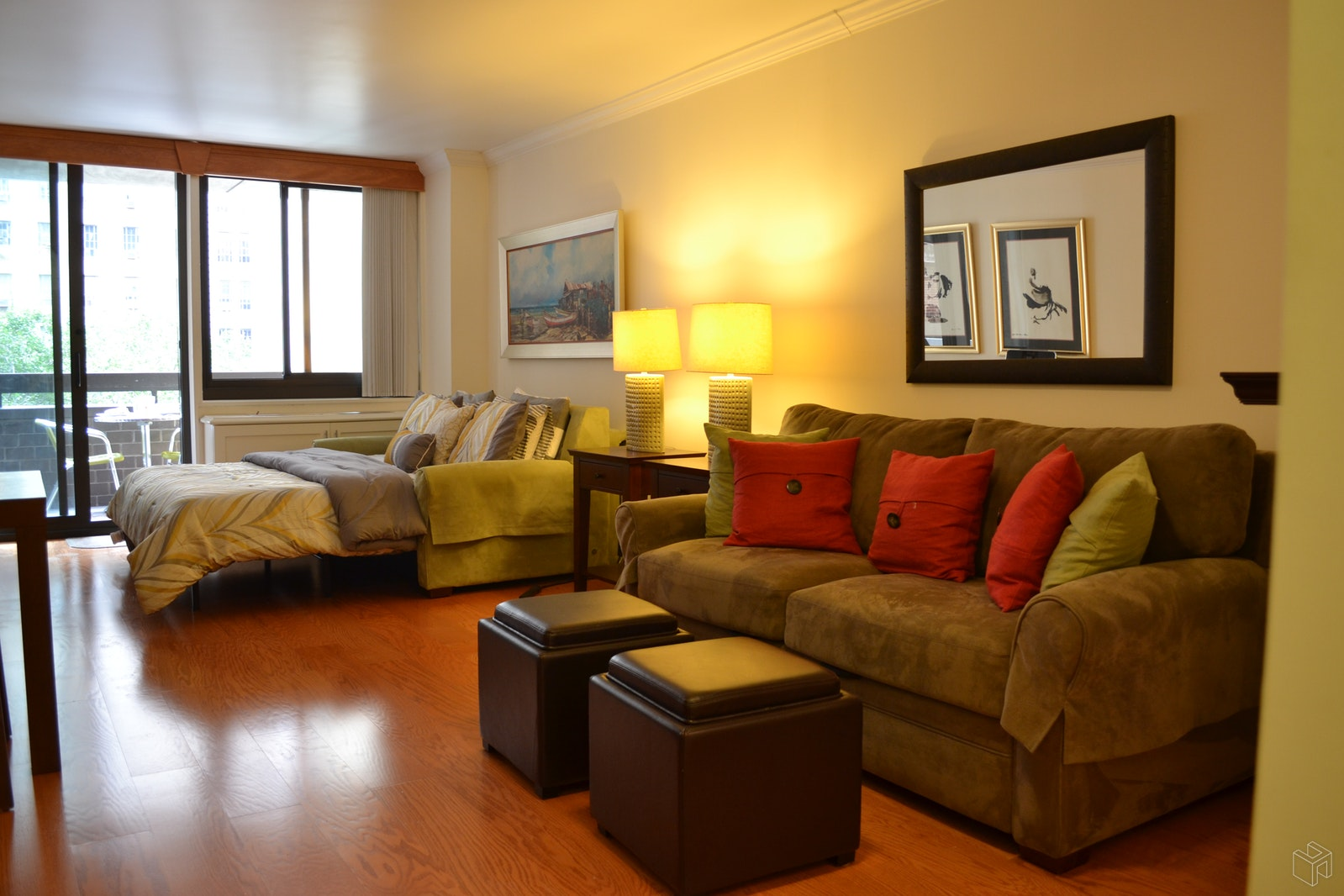 No Fee - Renovated With Terrace, Midtown West, NYC, 10019, $2,600, Rented Property, Halstead Real Estate, Photo 1