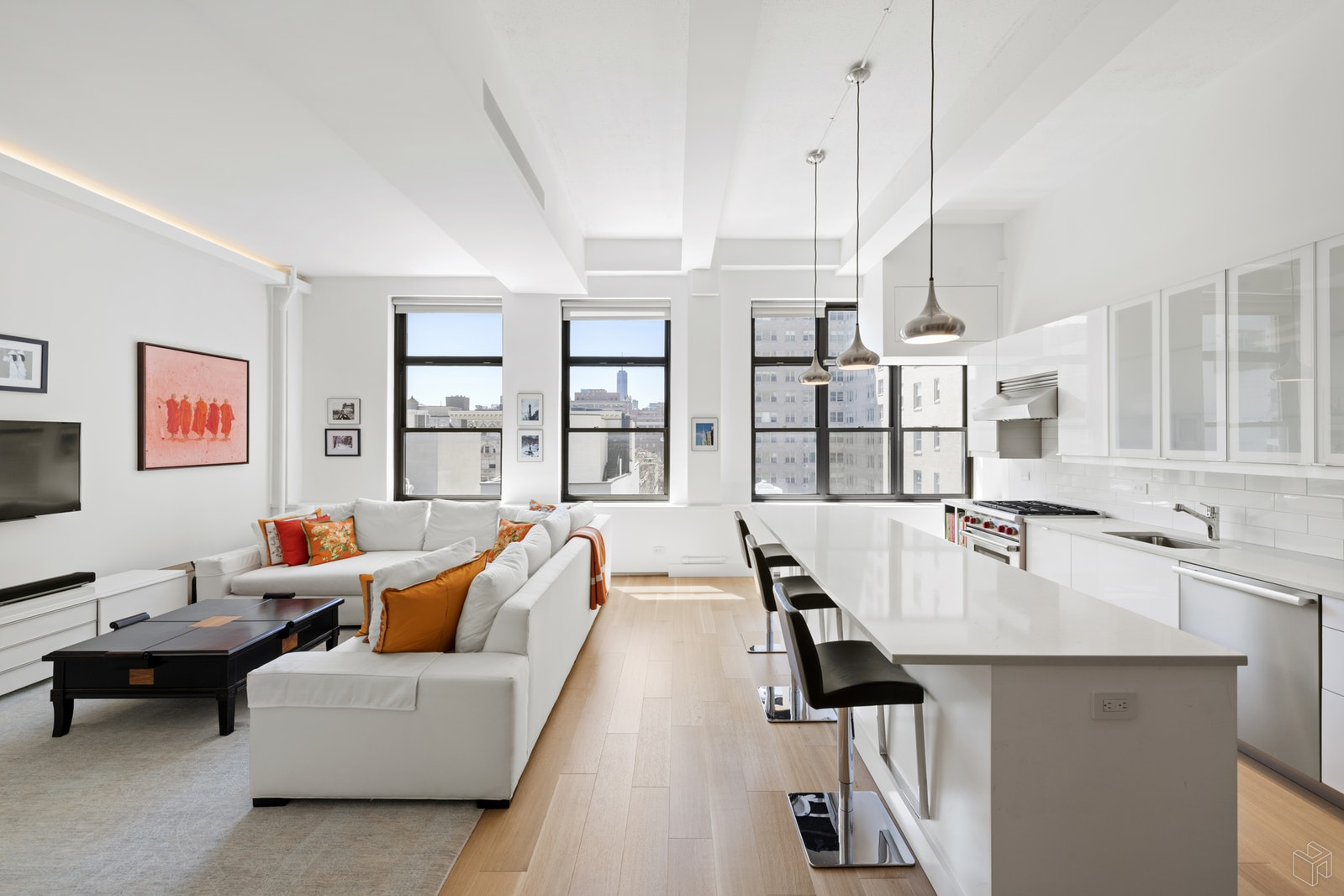 161 West 15th Street 6c, Chelsea, NYC, 10011, $2,290,000, Sold Property, Halstead Real Estate, Photo 1