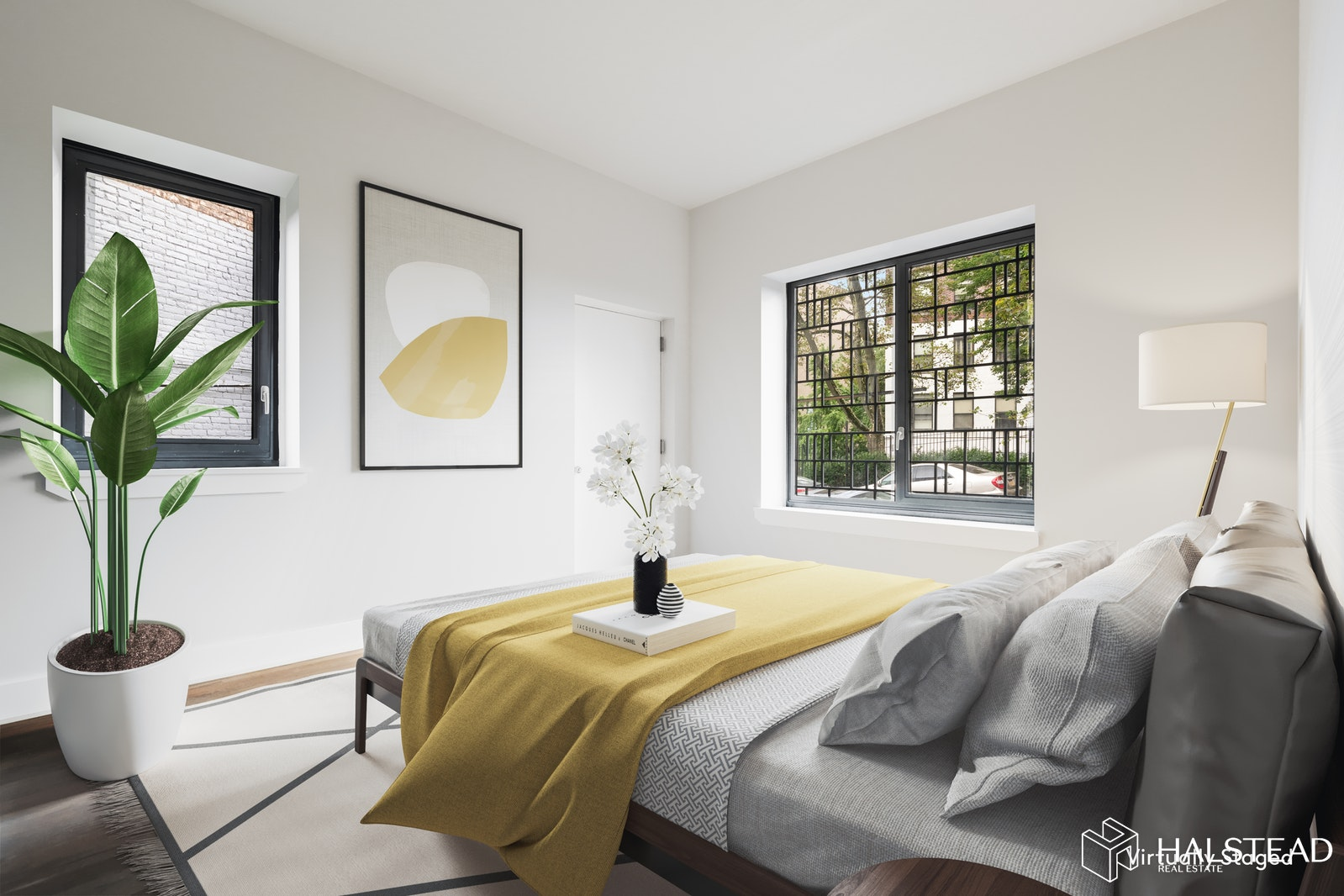52 Convent Avenue Garden A, Upper Manhattan, NYC, 10027, $995,000, Property For Sale, Halstead Real Estate, Photo 2