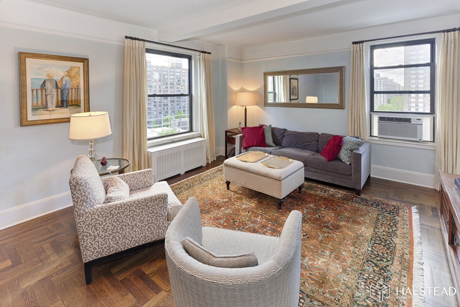 415 Central Park West 12b, Upper West Side, NYC, 10025, $1,395,000, Property For Sale, Halstead Real Estate, Photo 1