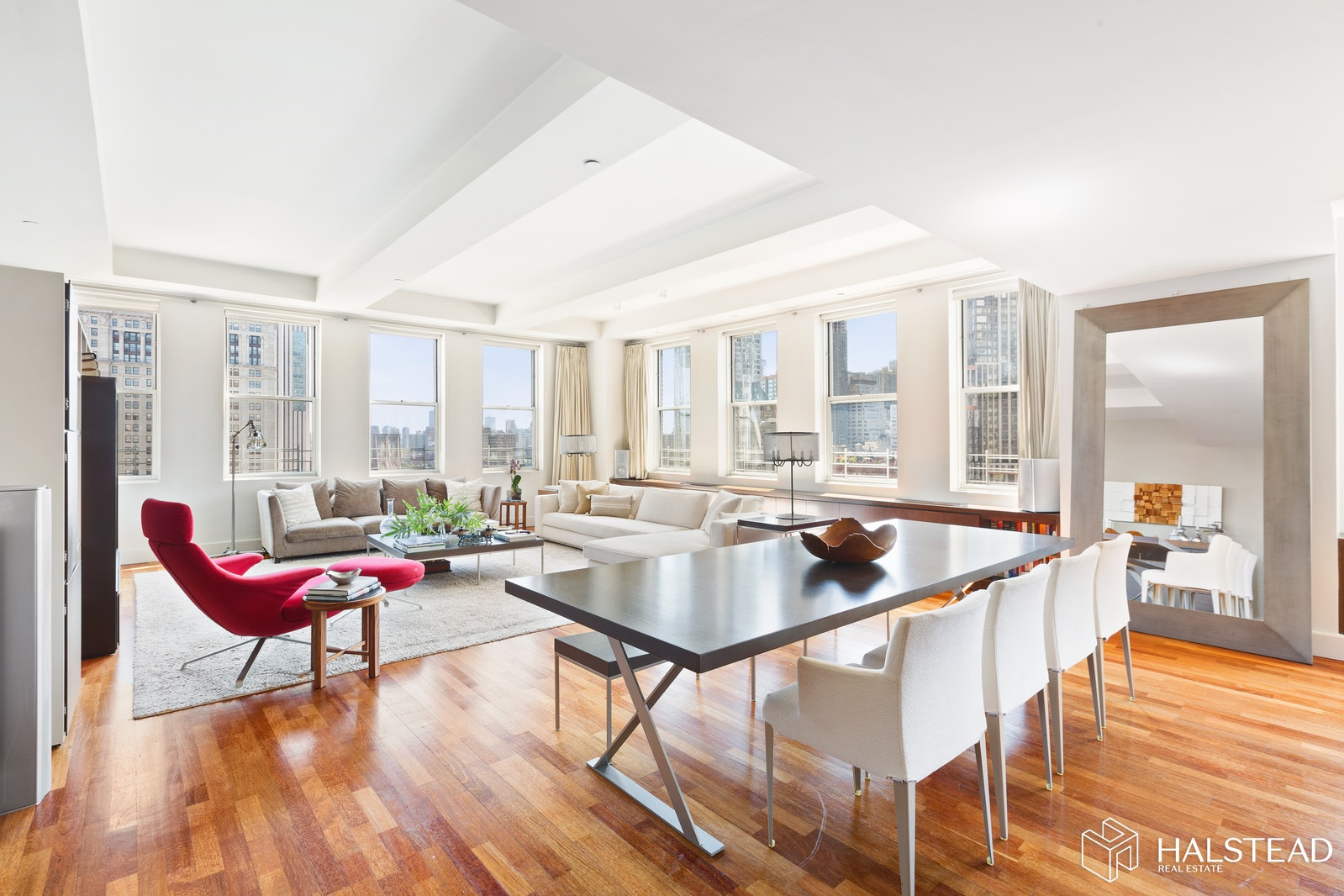 270 Broadway 17a, Tribeca, NYC, 10007, $3,300,000, Sold Property, Halstead Real Estate, Photo 1