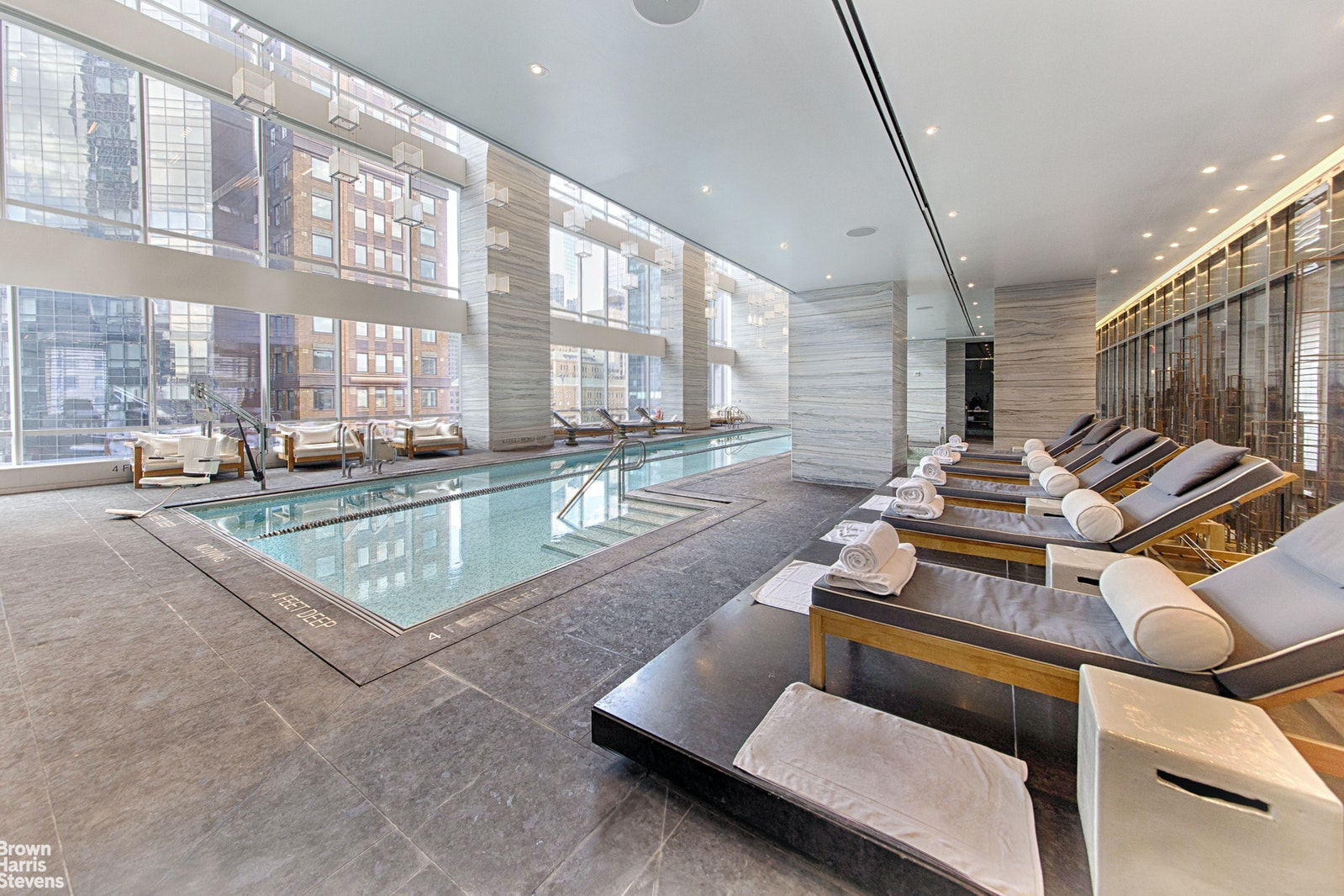 157 West 57th Street 39e, Midtown West, NYC, 10019, $4,850,000, Property For Sale, Halstead Real Estate, Photo 13