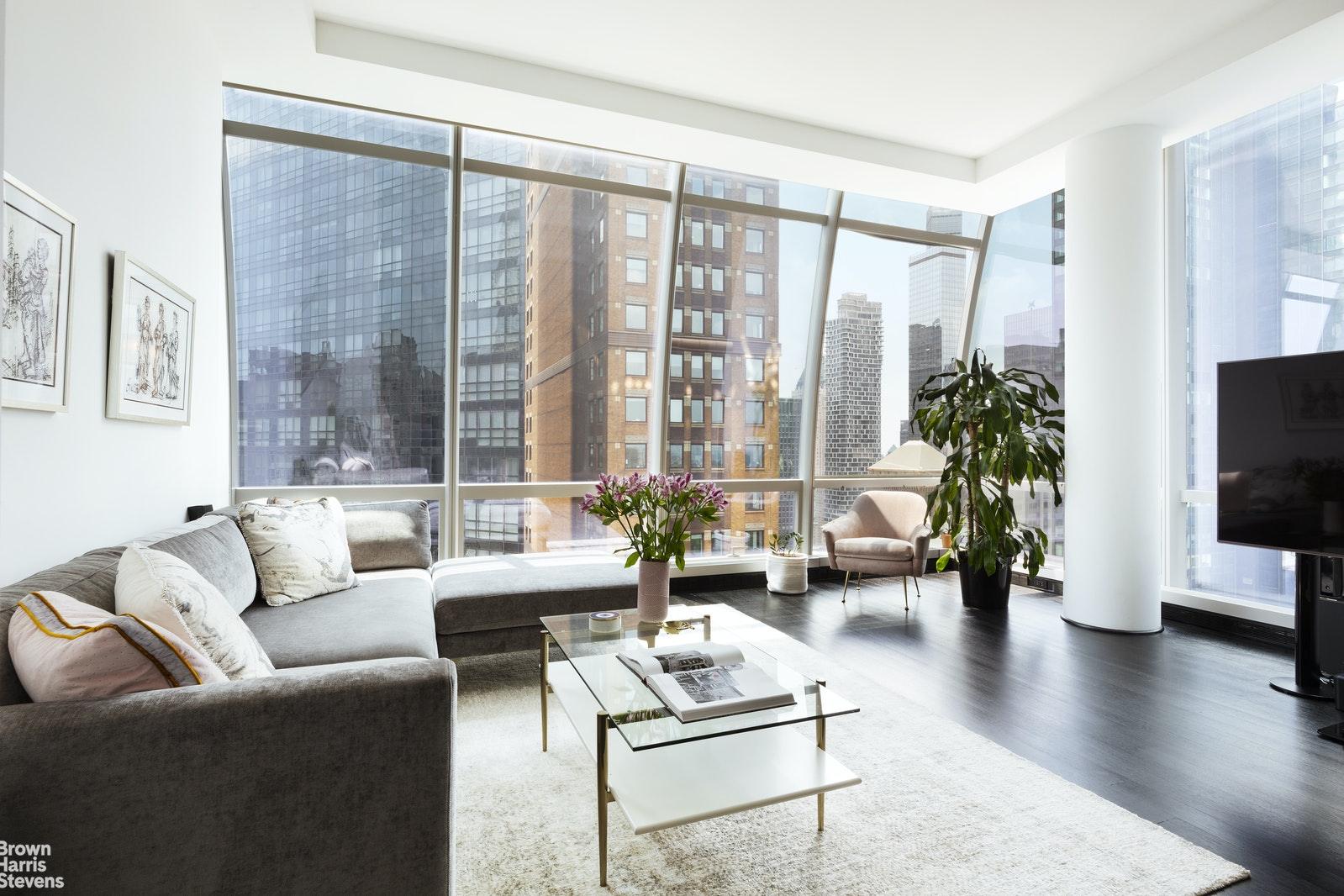 157 West 57th Street 39e, Midtown West, NYC, 10019, $4,850,000, Property For Sale, Halstead Real Estate, Photo 1