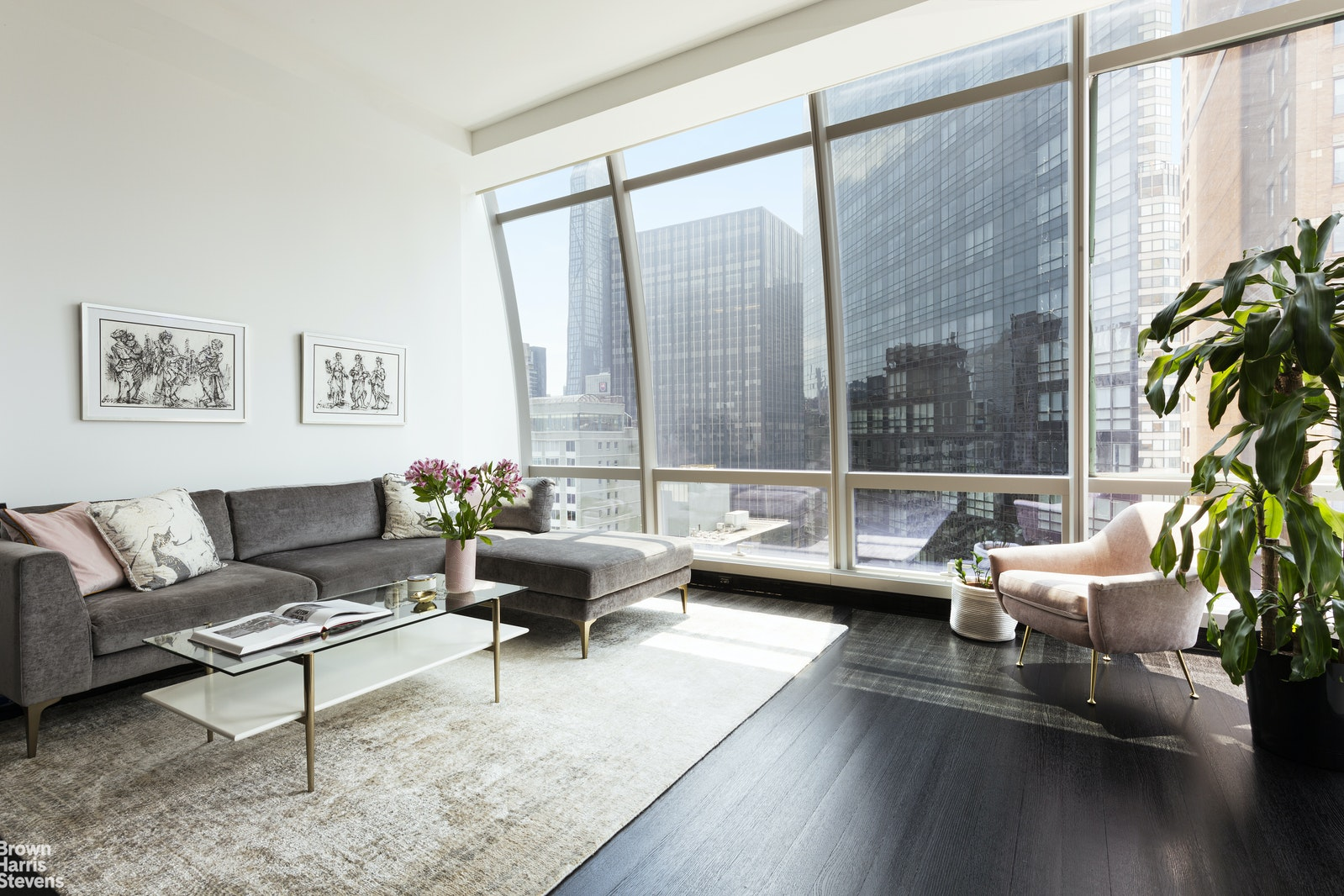 157 West 57th Street 39e, Midtown West, NYC, 10019, $4,850,000, Property For Sale, Halstead Real Estate, Photo 2