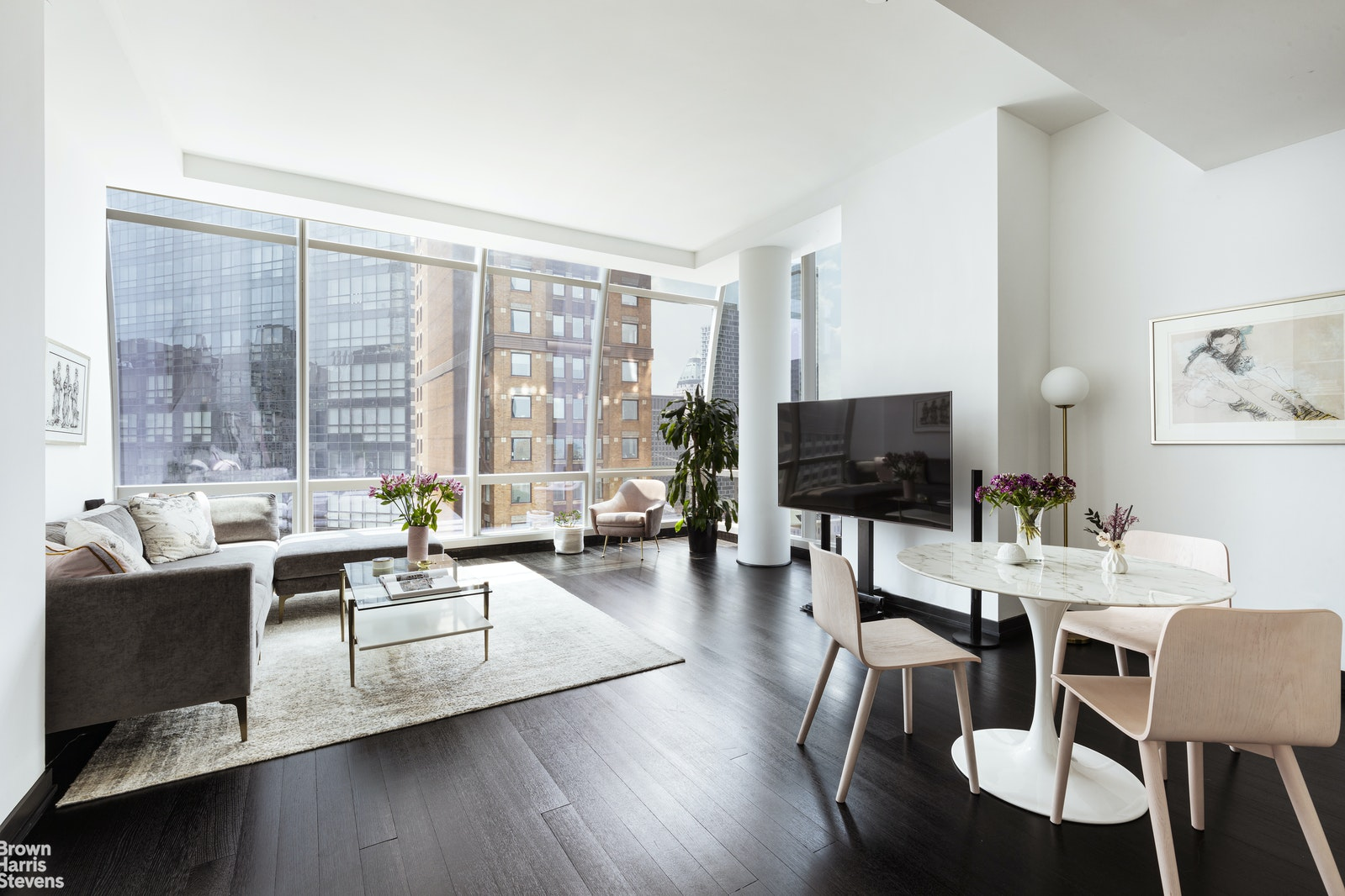 157 West 57th Street 39e, Midtown West, NYC, 10019, $4,850,000, Property For Sale, Halstead Real Estate, Photo 3