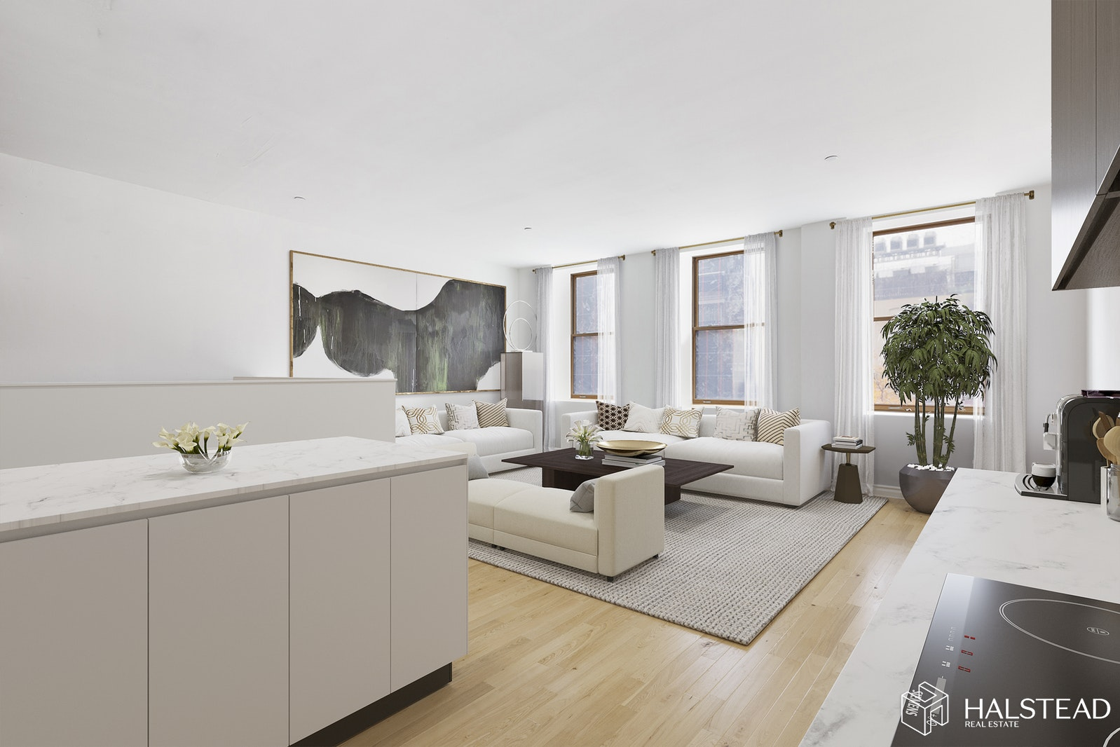 130 Jane Street 4/5/6e, West Village, NYC, 10014, $2,411,000, Sold Property, Halstead Real Estate, Photo 1