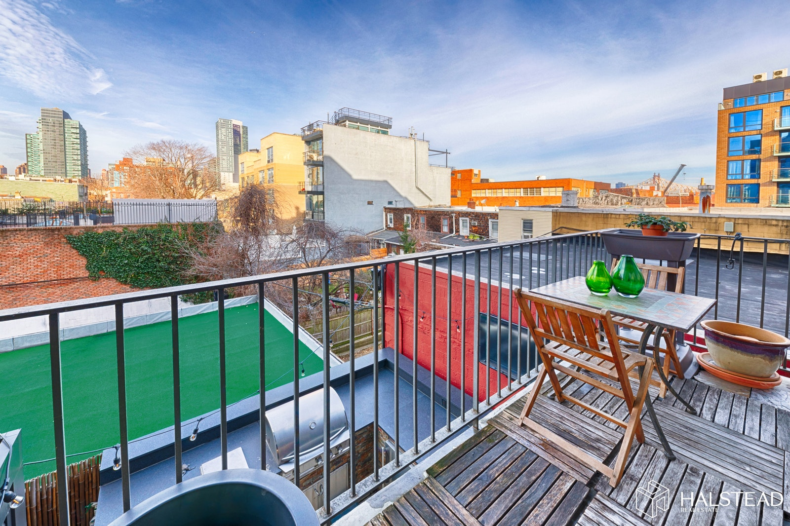 Large One Bed With Home Office & Terrace, Long Island City, Queens, NY, 11101, $1,120,000, Property For Sale, Halstead Real Estate, Photo 6