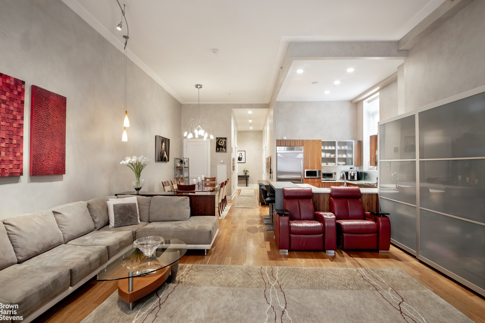 426 West 58th Street 3A, Midtown West, NYC, $1,999,000, Web #: 20058545