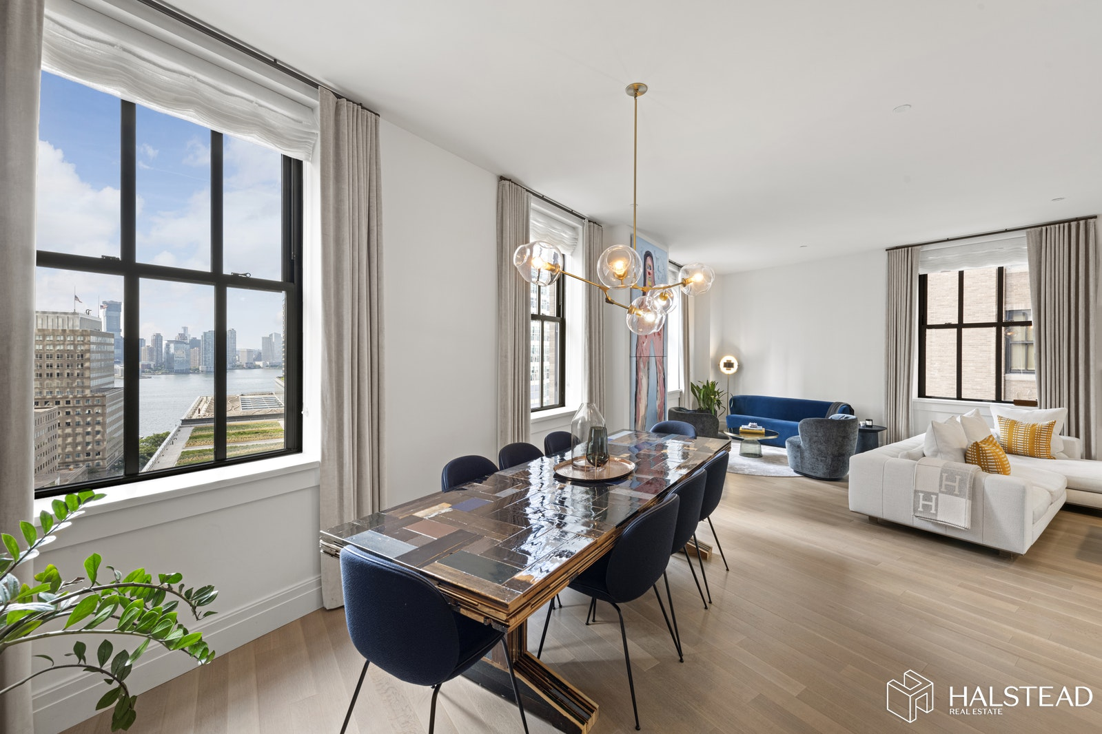 100 Barclay Street 14r, Tribeca, NYC, 10007, $4,500,000, Property For Sale, Halstead Real Estate, Photo 1