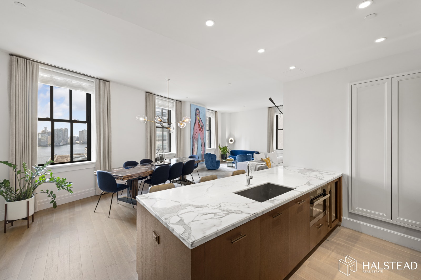100 Barclay Street 14r, Tribeca, NYC, 10007, $4,500,000, Property For Sale, Halstead Real Estate, Photo 2