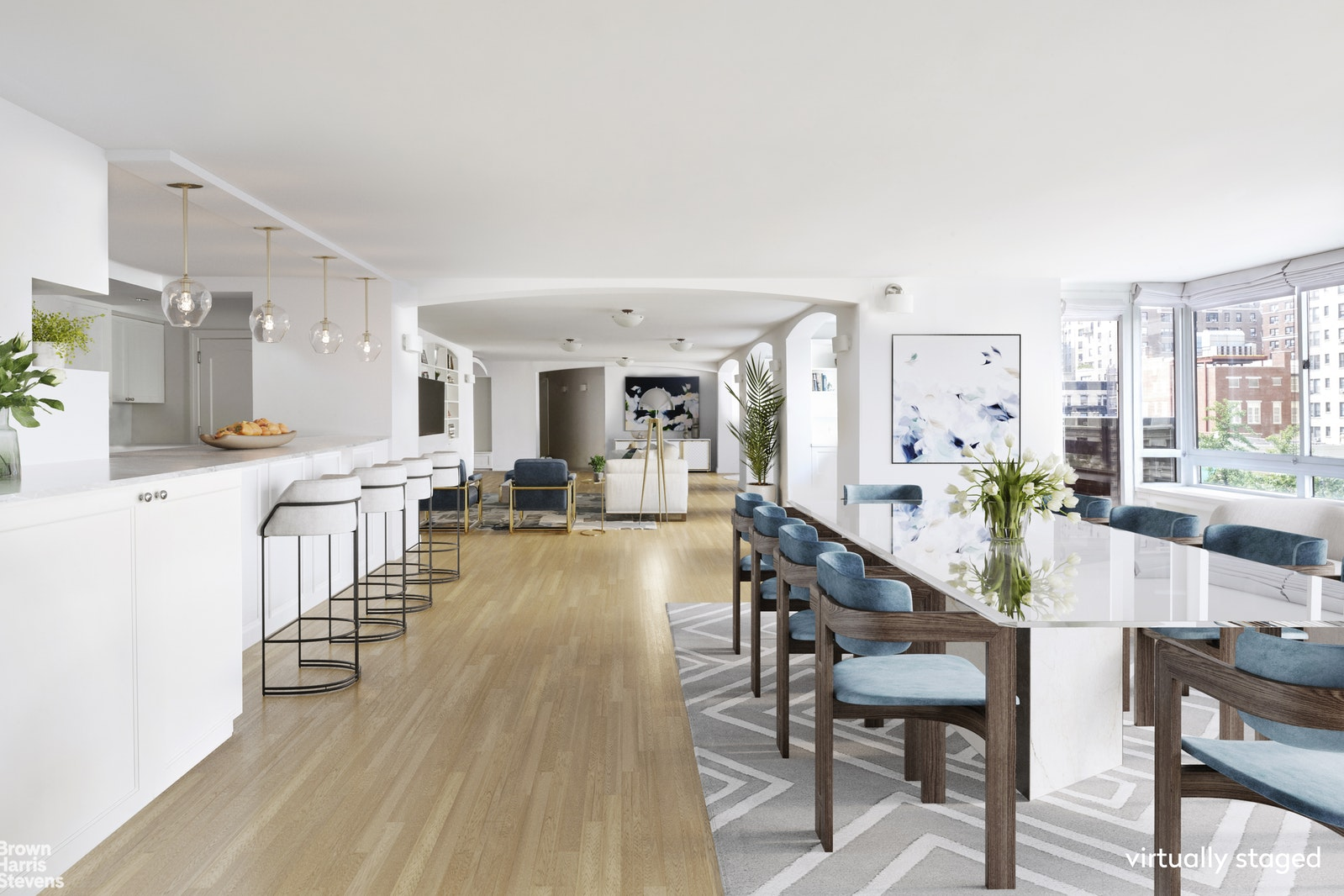 225 West 83rd Street 4k, Upper West Side, NYC, 10024, $4,995,000, Property For Sale, Halstead Real Estate, Photo 1