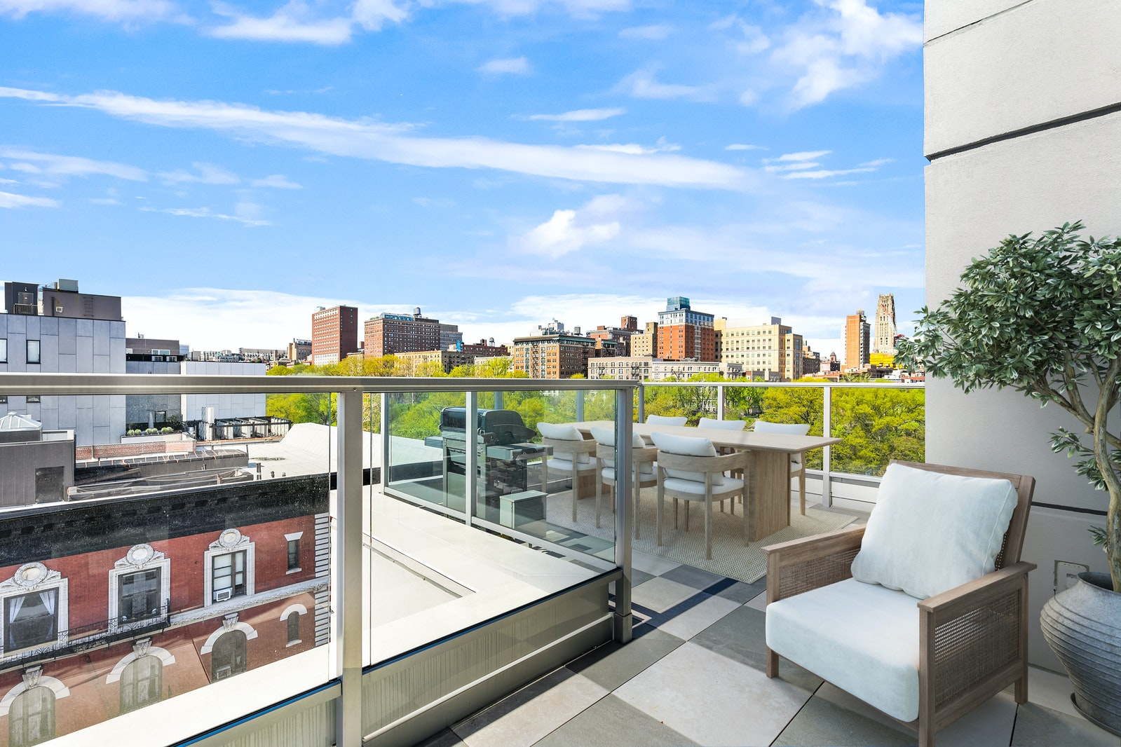 375 West 123rd Street Phb, Upper Manhattan, NYC, 10027, $3,550,000, Property For Sale, Halstead Real Estate, Photo 2