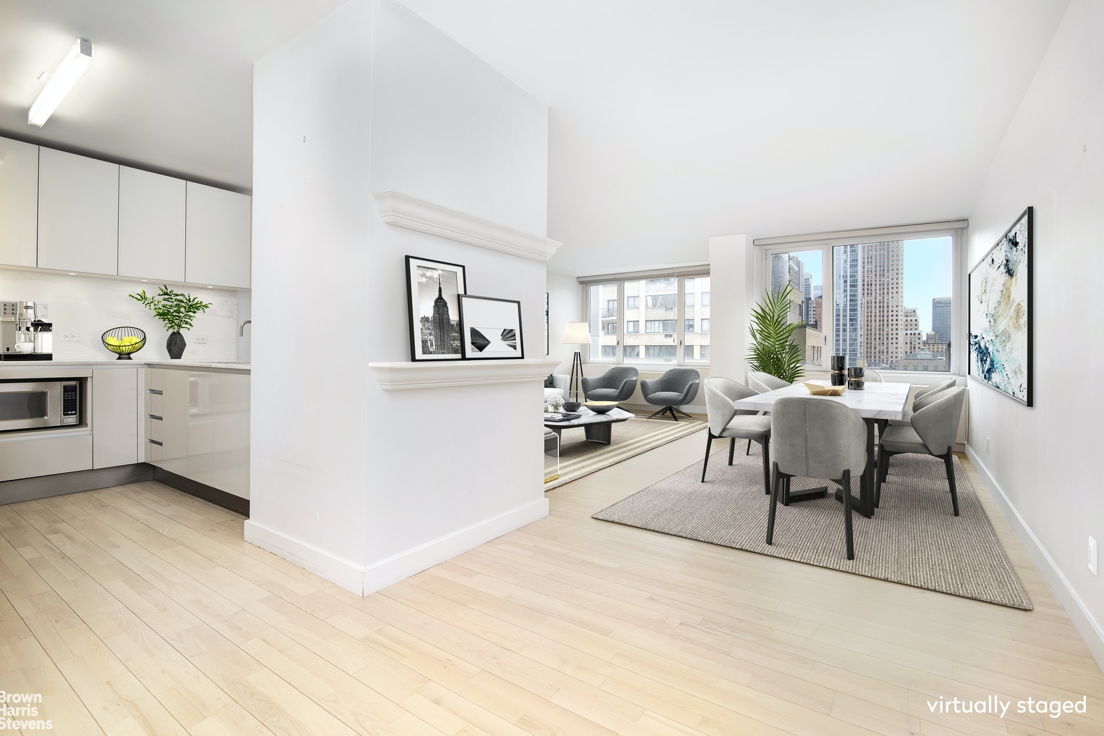 322 West 57th Street 16P, Midtown West, NYC, $5,100, Web #: 20798063