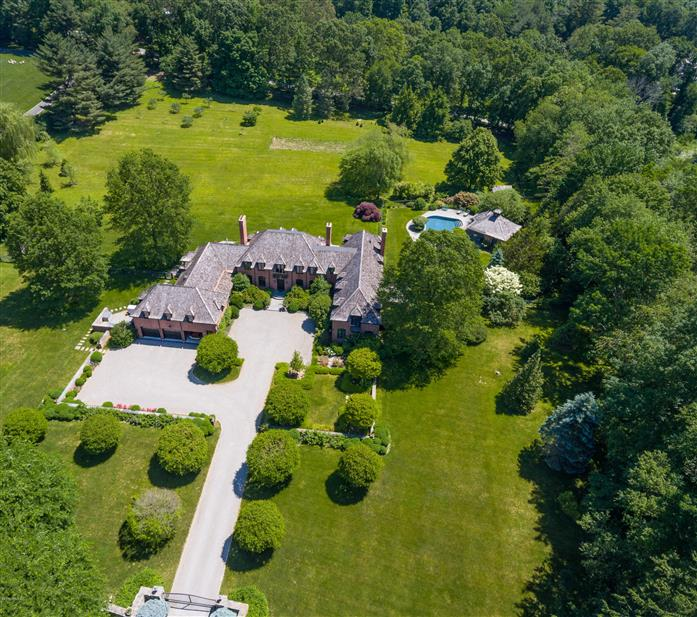 55 Mooreland Road, Greenwich, Connecticut, 06831, $6,200,000, Property For Sale, Halstead Real Estate, Photo 1