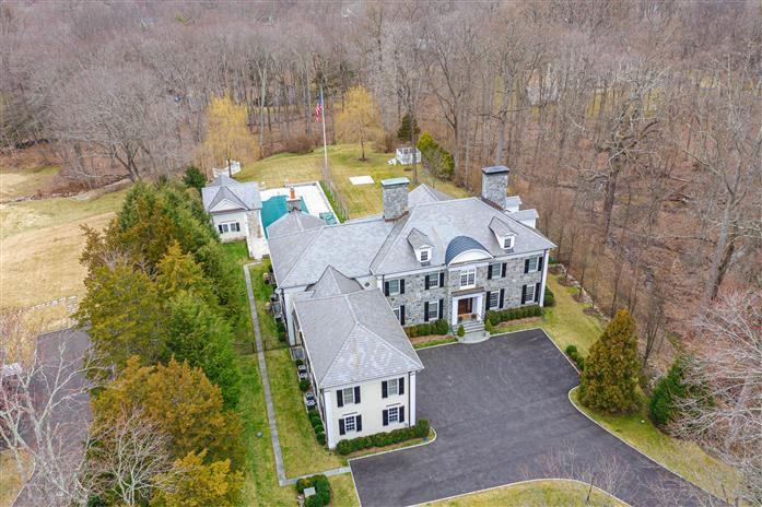 55 Perkins Road, Greenwich, Connecticut, 06830, $12,800,000, Property For Sale, Halstead Real Estate, Photo 1