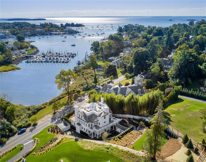 307 Shore Road, Greenwich, Connecticut, 06830, $8,950,000, Property For Sale, Halstead Real Estate, Photo 1