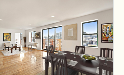 2098 Frederick Douglass Phn, Upper Manhattan, NYC, 10026, $251,000, Sold Property, Halstead Real Estate, Photo 1